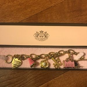 Jewelry - Juicy Charm Bracelet and Charms